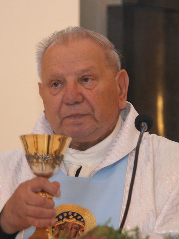 Ksiądz kanonik Andrzej Sekulski